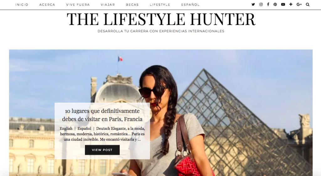 The Lifestyle Hunter blog